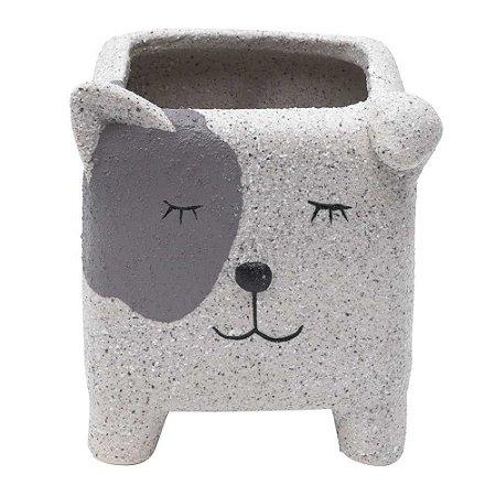 Cachepot Cerâmica Sleeping Dog