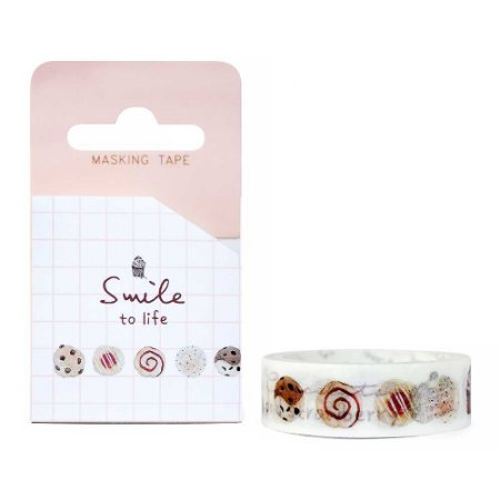 Fita Decorativa Washi Tape - Doces Smile To Life Cookies