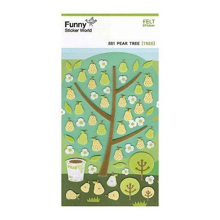 Adesivo Divertido Feltro - Pear Tree [TREE]