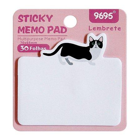 Post-it Sticky Memo Pad 9695 - Gato Rosa