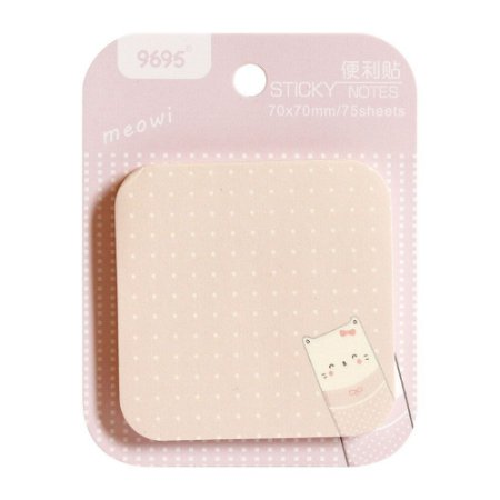 Post-it Sticky Notes Meowi 9695 - Gato Rosa