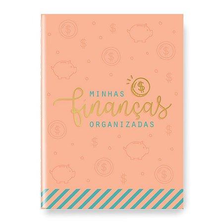 Planner Minhas Finanças Organizadas Rosa - Cartões Gigantes