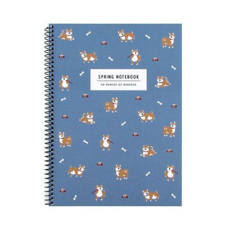 Caderno Espiral Médio Spring Notebook Cachorro Shiba Inu - Artbox