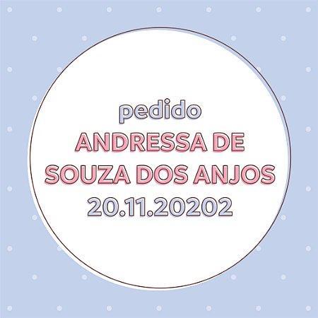 Pedido Andressa de Souza dos Anjos