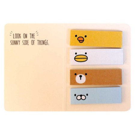 Cartela de Washi Tapes em Tiras Galapagos Friends Boss - Artbox
