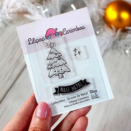 Kit de Carimbos Mini Árvore de Natal - Lilipop