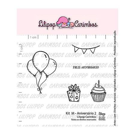 Kit de Carimbos Aniversário 2 - Lilipop