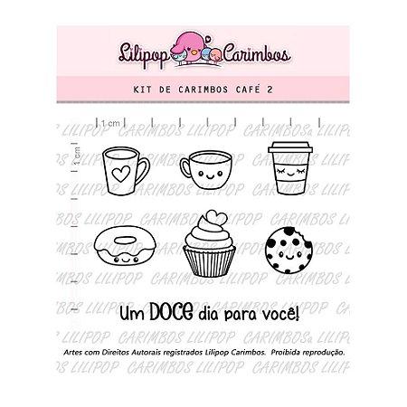 Kit de Carimbos Café 2 - Lilipop