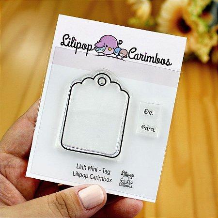 Kit de Carimbos Mini Tag - Lilipop