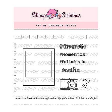 Kit de Carimbos Selfie - Lilipop