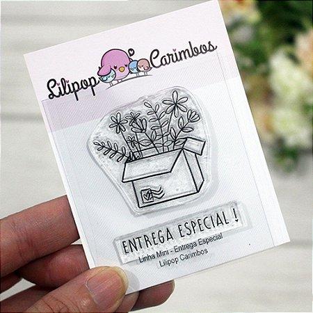 Kit de Carimbos Mini Entrega Especial - Lilipop
