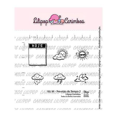 Kit de Carimbos Previsão do Tempo 2 - Lilipop