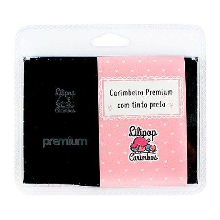 Carimbeira Premium com Tinta Preta - Lilipop