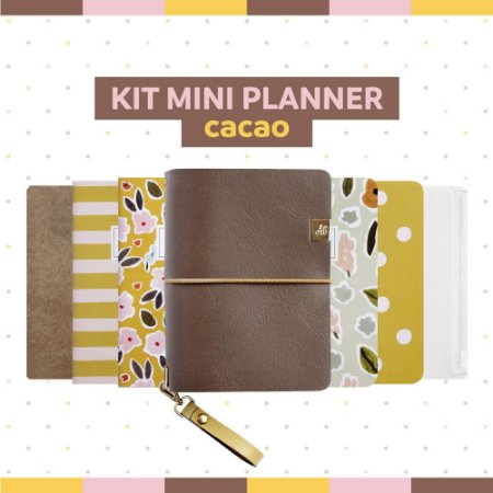 Kit Mini Planner Cacao
