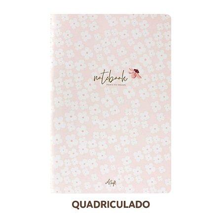 Caderno Quadriculado Petit Fleur Para Planner A.Craft Tamanho Padrão