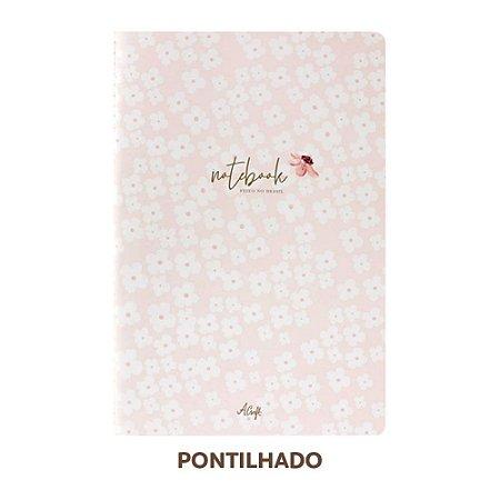 Caderno Pontilhado Petit Fleur Para Planner A.Craft Tamanho Padrão