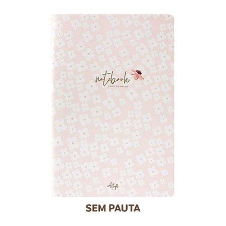 Caderno Sem Pauta Petit Fleur Para Planner A.Craft Tamanho Padrão