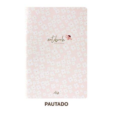 Caderno Pautado Petit Fleur Para Planner A.Craft Tamanho Padrão