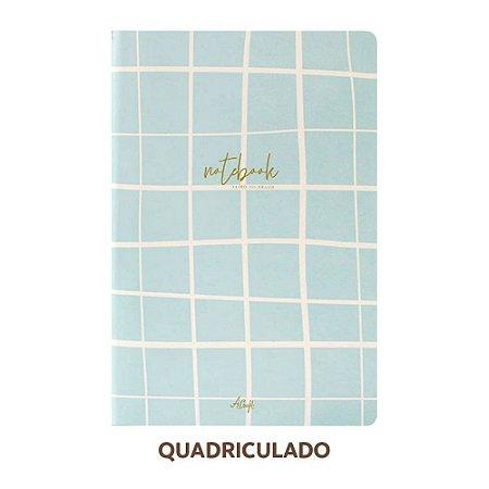 Caderno Quadriculado Bonjour Para Planner A.Craft Tamanho Padrão