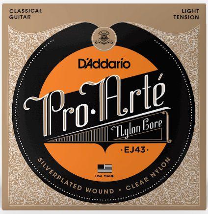 Encordoamento D'Addario Nylon Pro Arte Light Tension - EJ43