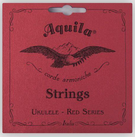 Encordoamento Ukulele Concert Aquila Red Series - High G