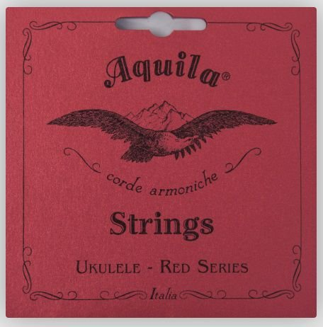 Encordoamento Ukulele Soprano Aquila Red Series - High G