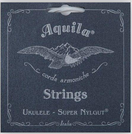 Encordoamento Ukulele Soprano Aquila Super Nylgut - High G