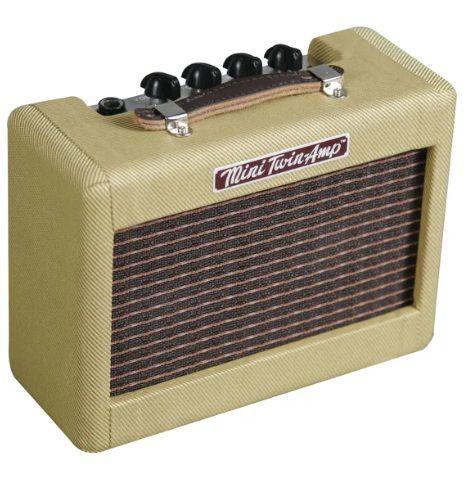 Mini Amplificador de Guitarra Fender Twin 57 Tweed