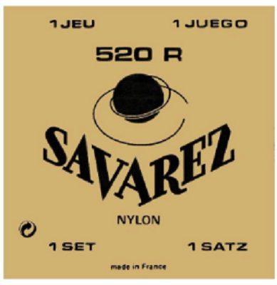 Encordoamento Savarez Nylon 520R - Tensão Alta