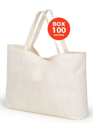 BOX com 100 sacolas 40 X 45 X 15 CM