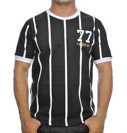 Camisa Retrô Alvinegro Paulista 1977