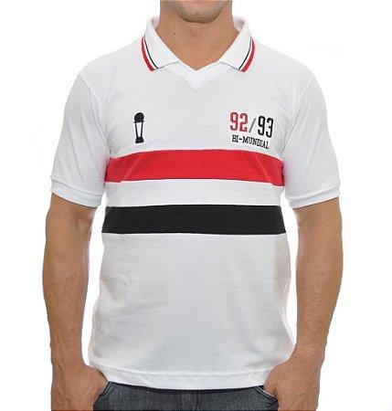 Camisa Retrô Tricolor Paulista Bi Mundial 1992/1993