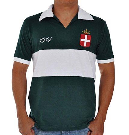 Camisa Retrô Alviverde Paulista 1914