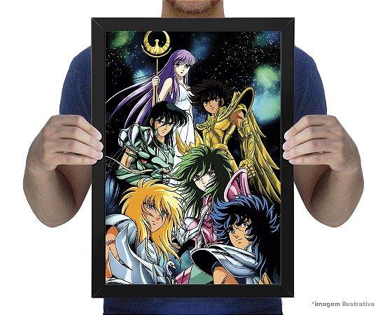 Poster Cavaleiros o Zodiaco