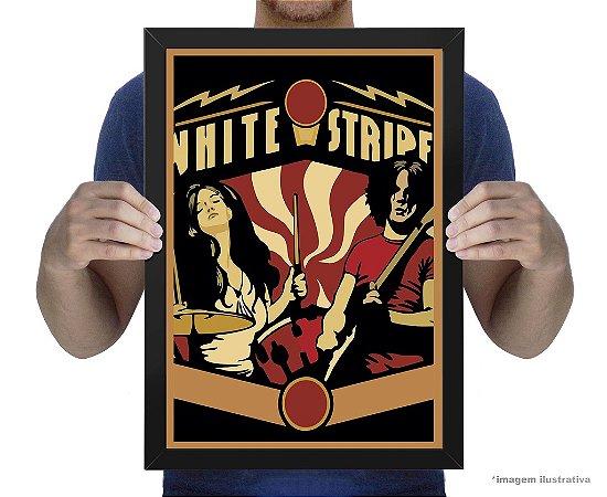 Poster White Stripes