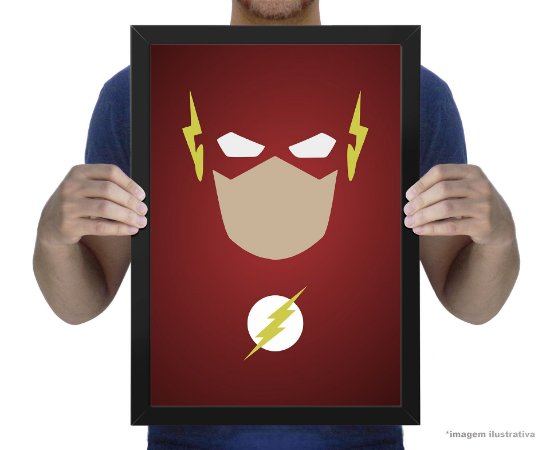 Poster Minimalista The Flash