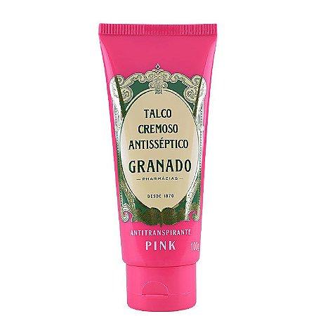 Talco Cremoso Antisséptico Granado Pink 100g