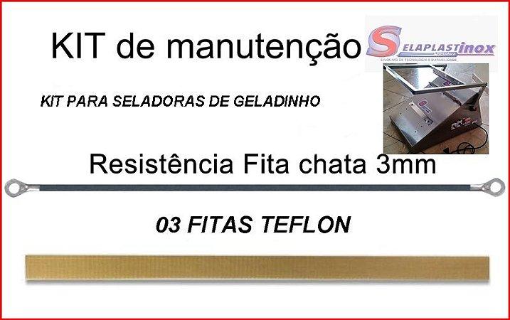 KIT REPARO DE SELADORA DE GELADINHO 30 CM
