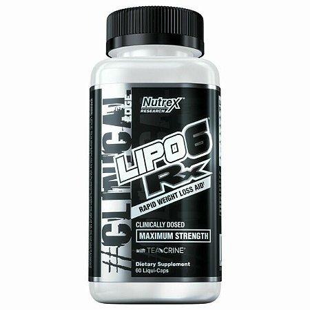 Lipo 6 RX (60 cápsulas) - Nutrex