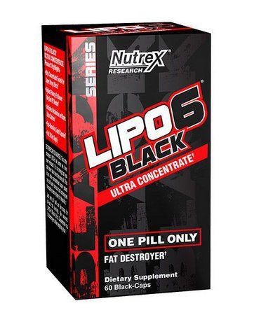 Lipo 6 Black UC (60 cápsulas) - Nutrex
