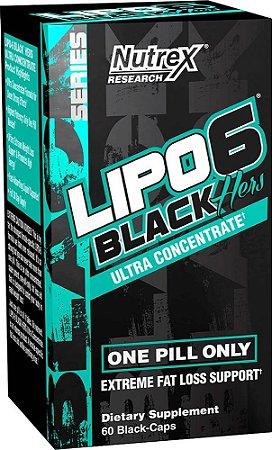 Lipo 6 Black HERS (60 cápsulas) - Nutrex