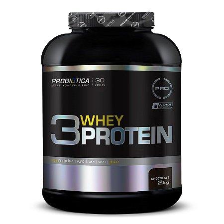 Whey Protein 3W - Probiótica (900g / 2kg)