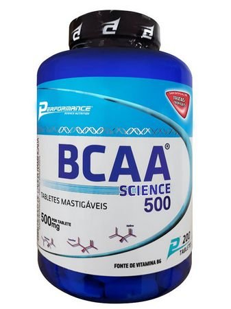 BCAA Science - Mastigável (200 caps) - Performance