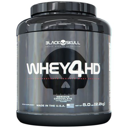Whey 4HD - Black Skull (907g / 2,2kg)