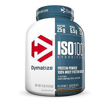 Iso 100 - Dymatize (726g / 1,4kg / 2,3kg / 2,7kg)