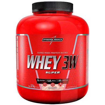 Super Whey 3W - Integralmédica (900g / 1,8kg)