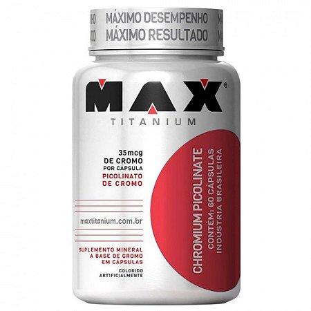 Picolinato de Cromo (120 caps) - Max Titanium