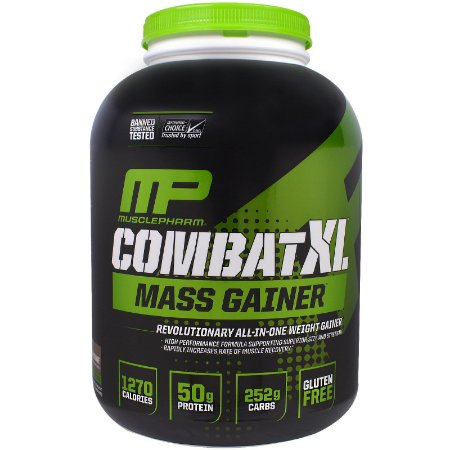 Combat XL Mass Gainer - MusclePharm (2,722kg)