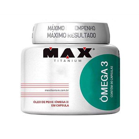 Ômega 3 (90 caps) - Max Titanium