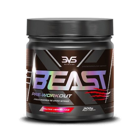 Beast Pre Workout - 3VS (60 doses)